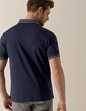 bugatti Polo Shirt in dunkelblau