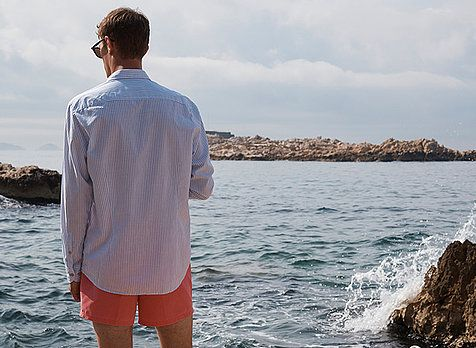 Find your perfect holiday outfit for the beach, pool or club with the bugatti outfit tips.