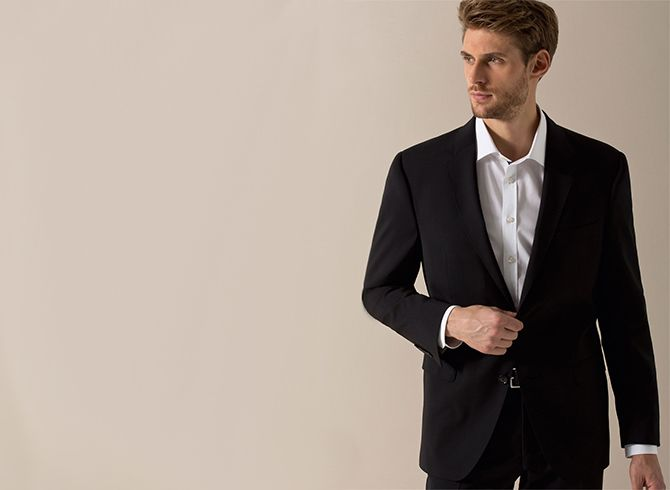 The right trouser length for suit trousers